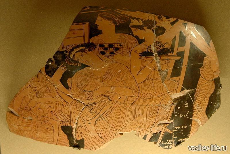 «Керкинитида» экспонаты в музейном комплексе