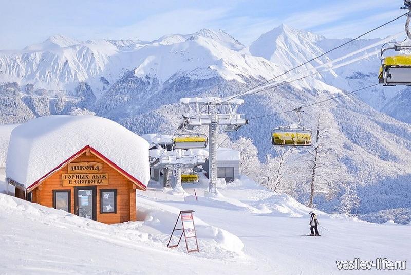 «Красная Поляна», горнолыжная школа