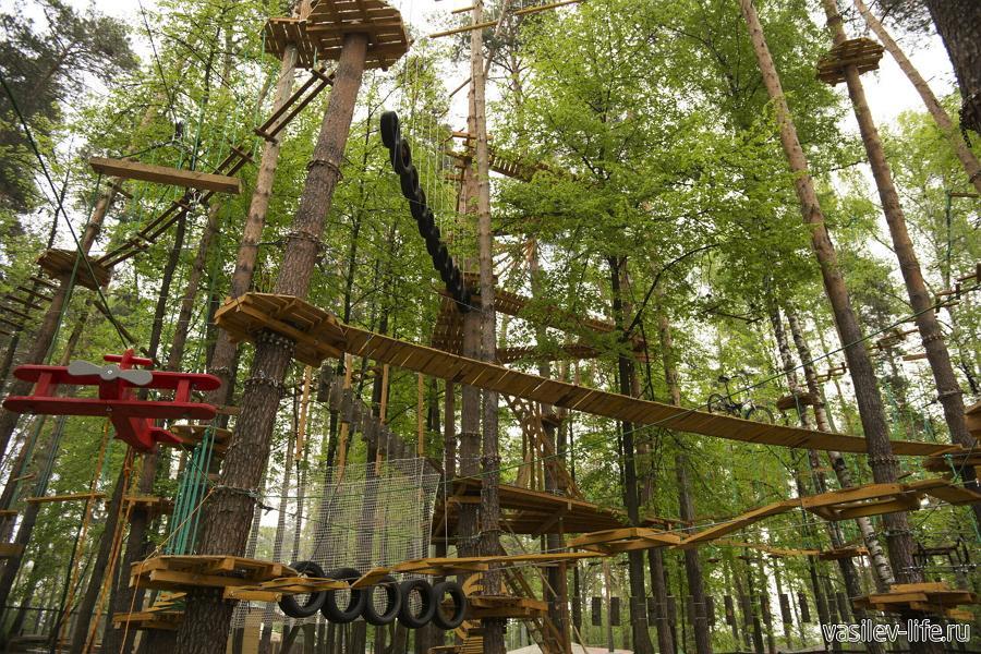 «Паутина» - веревочный парк