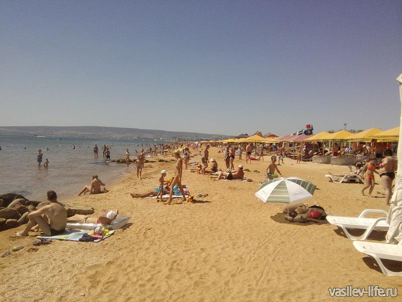 «Пляж 117» в Феодосии