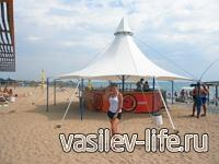 «Рыцарский пляж» в Евпатории