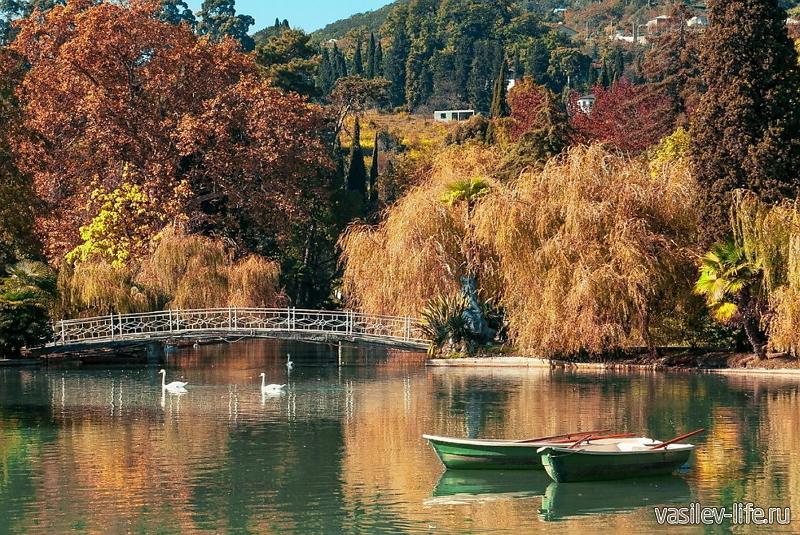 Абхазия осенью