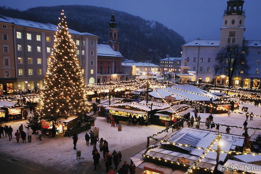 Австрия, Зельцбург, Новый год