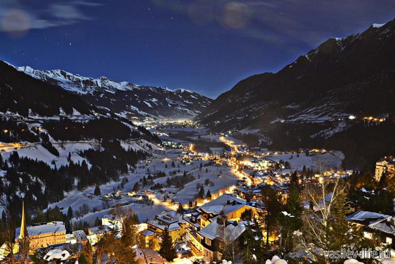 Австрия, горнолыжный курорт