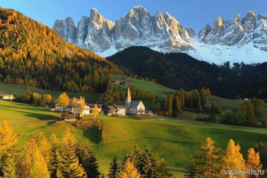 Австрия осенью