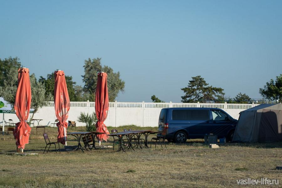 Автокемпинг «Лазурный берег» Евпатория