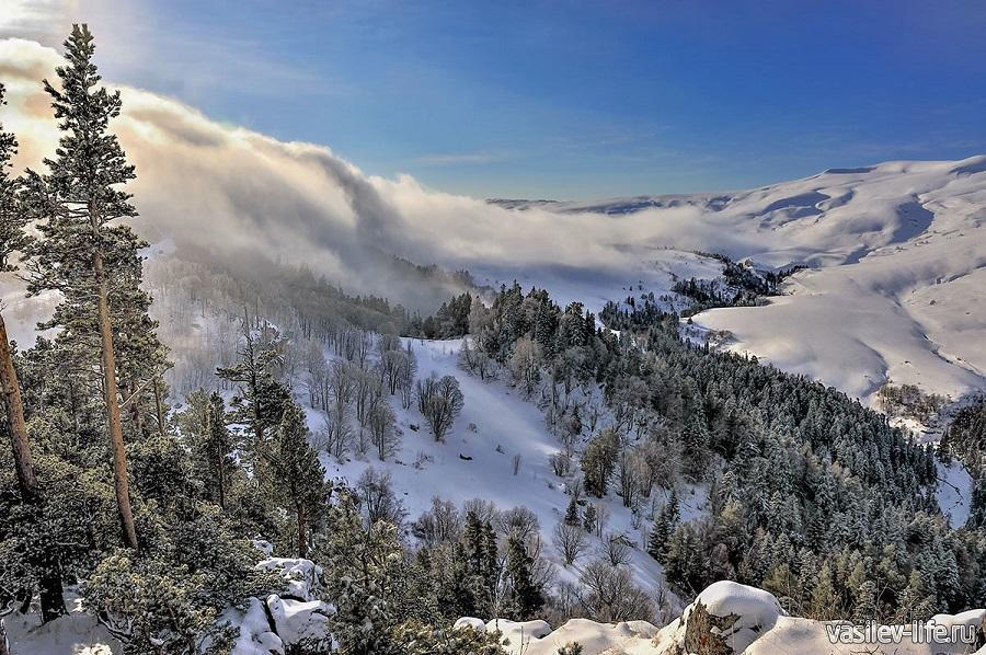 Адыгея зимой