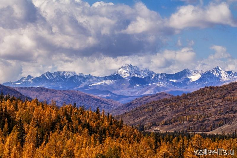 Алтайский край, горы осенью