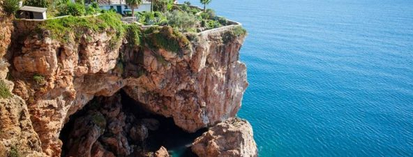 Coast of Antalya, Turkey