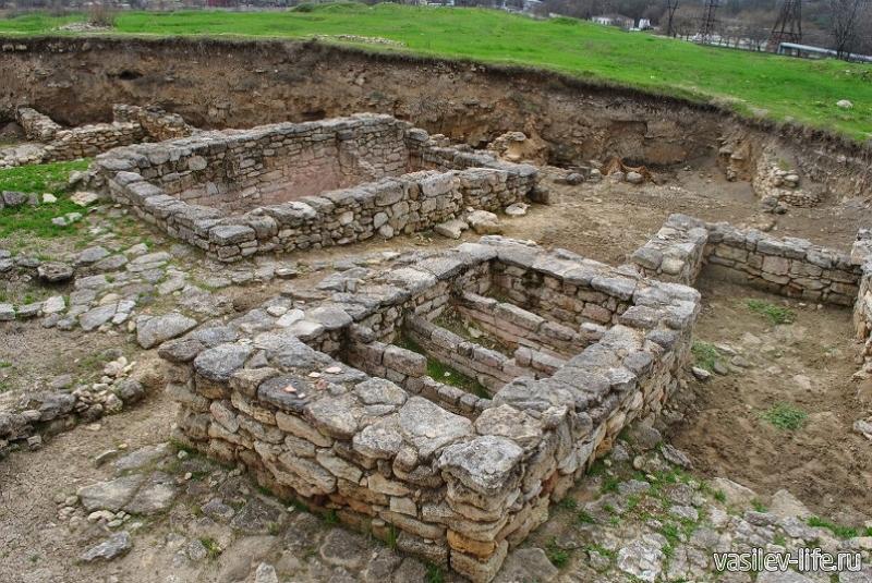 Античное городище Тиритака