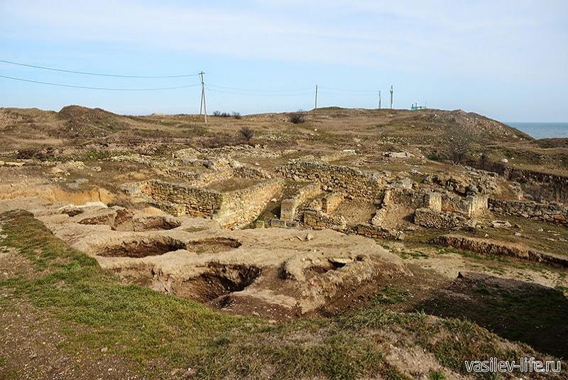 Античное городище Тиритака10