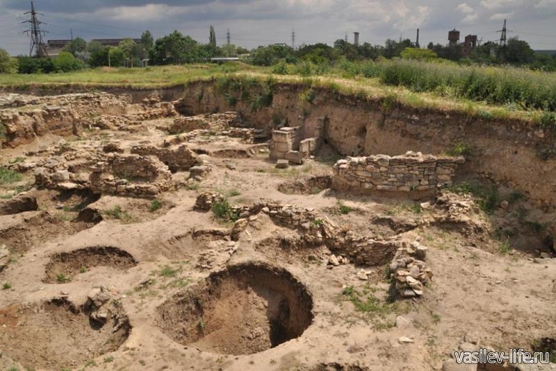 Античное городище Тиритака11