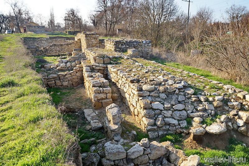 Античное городище Тиритака5