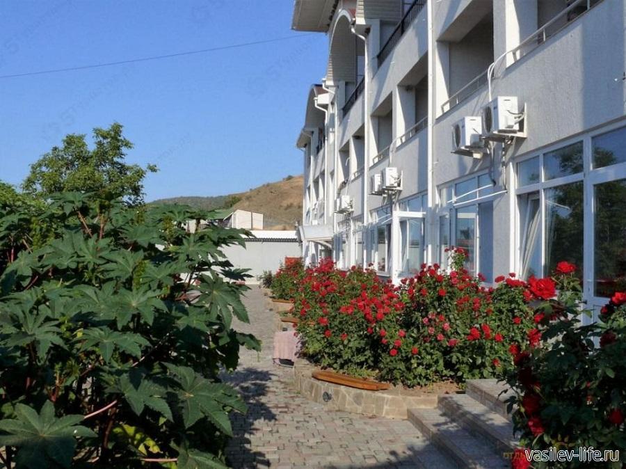 База отдыха Аквамарин в поселке Веселое