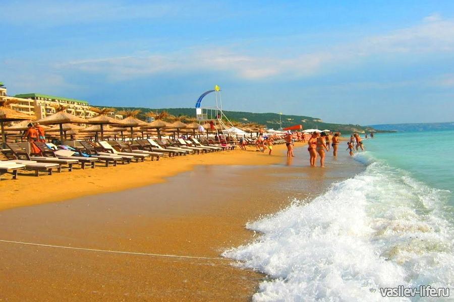 Болгария в июне, Золотые пески