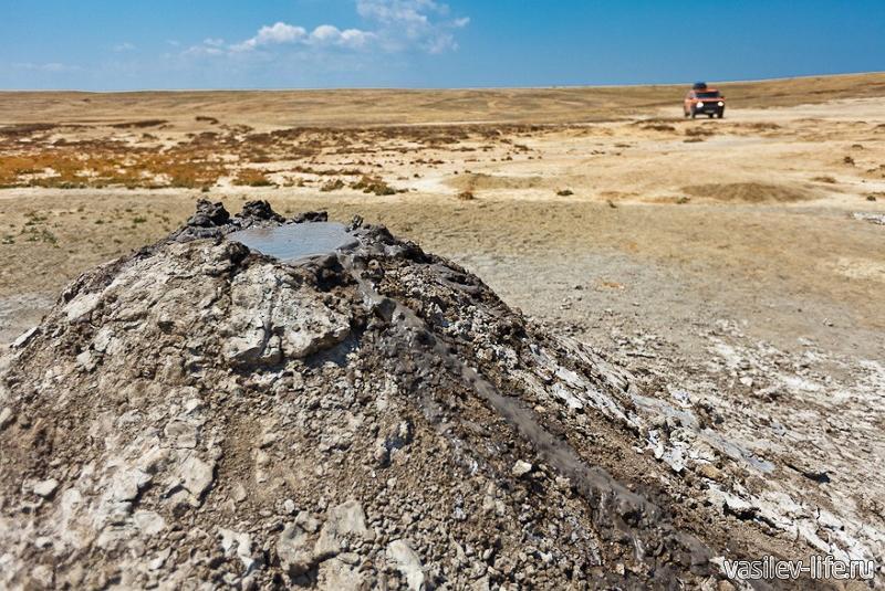 Булганакские грязевые вулканы10