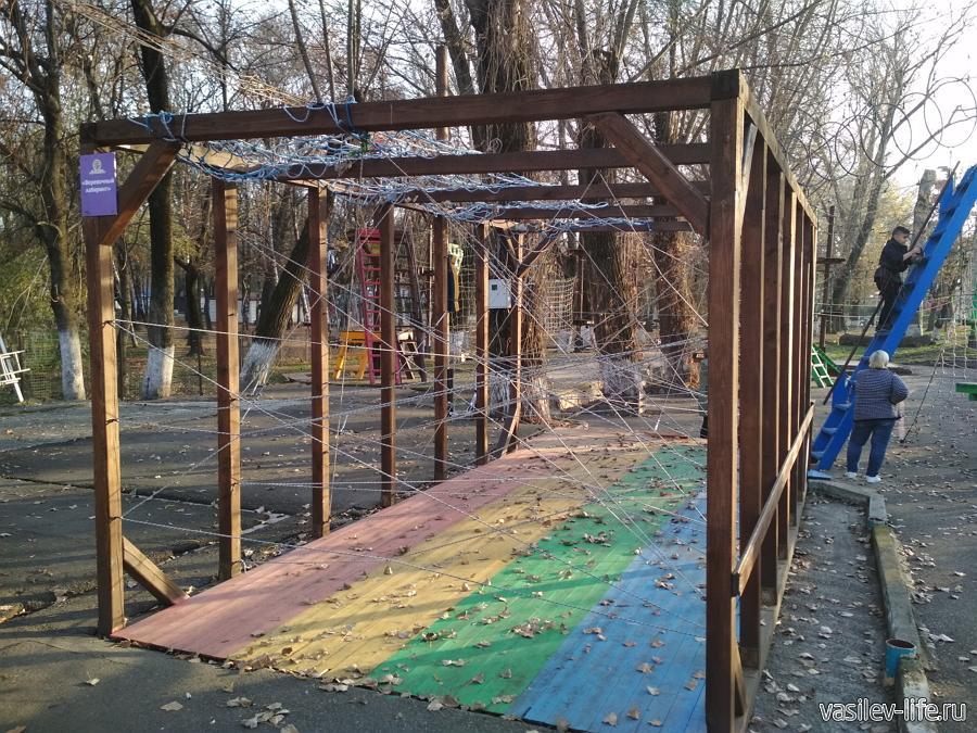 Веревочный парк в Пятигорске
