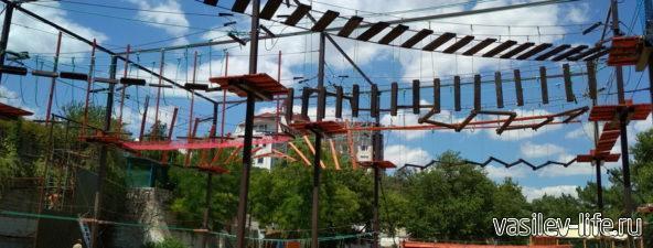 Веревочный парк в Феодосии