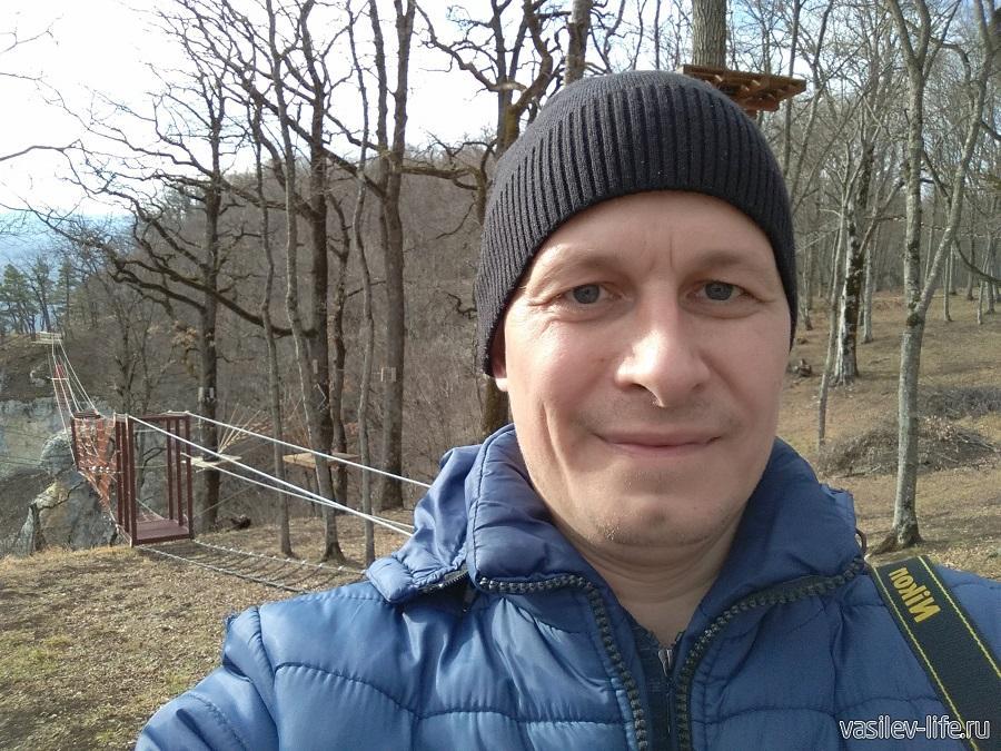 Веревочный парк развлечений «Тетис» в Даховской