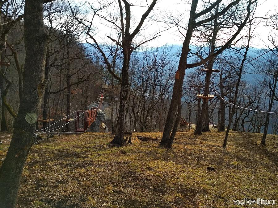 Веревочный парк развлечений «Тетис» в Даховской (16)