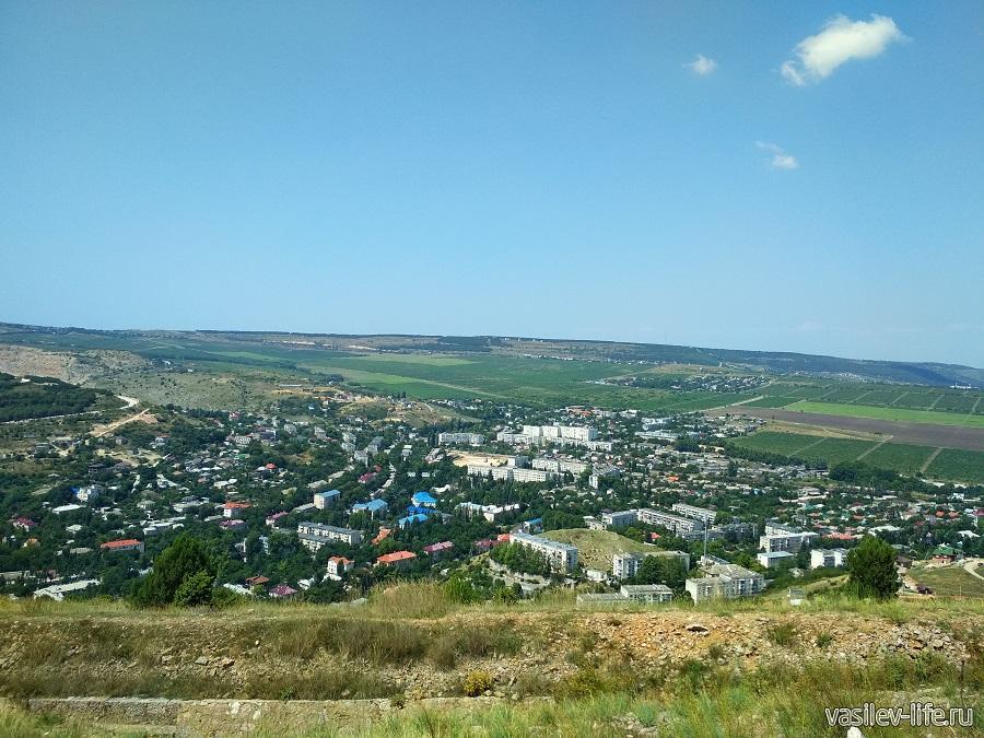 Вид на Балаклаву с Северного форта