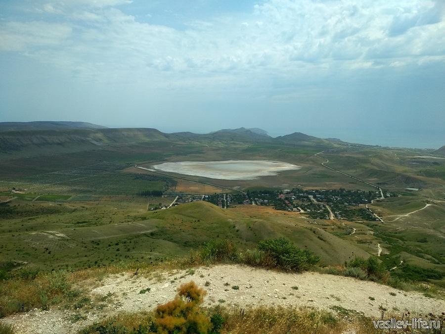 Вид с горы Клементьева (место, Звездопад Воспоминаний)