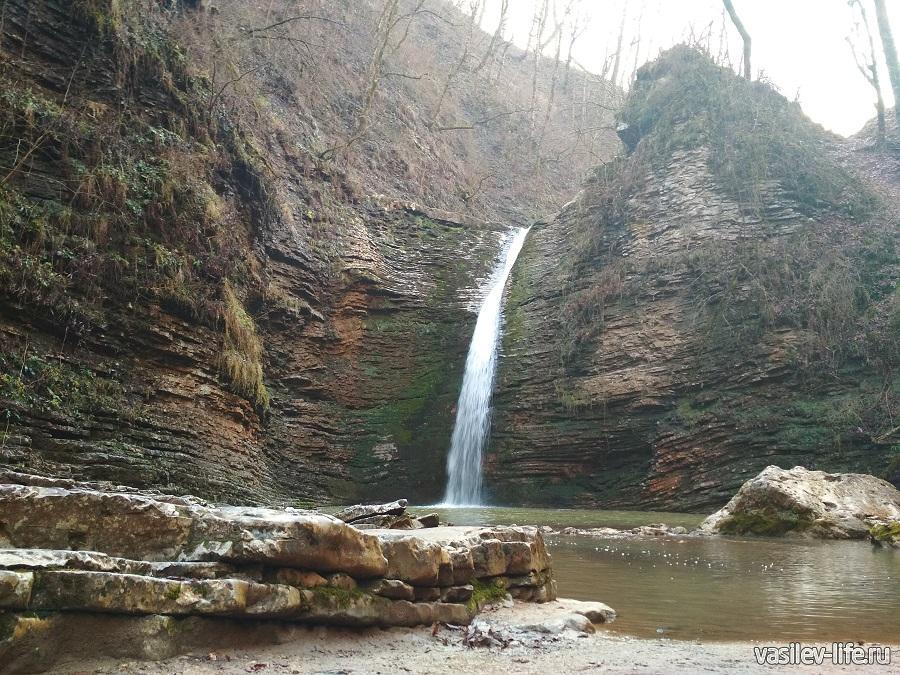 Водопады Руфабго в Адыгее (19)
