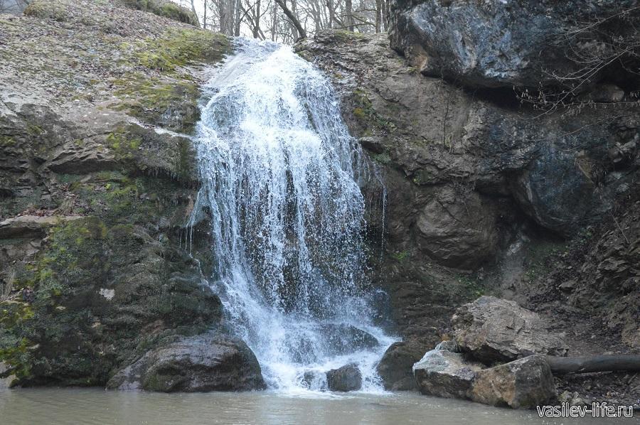 Водопады Руфабго в Адыгее (4)