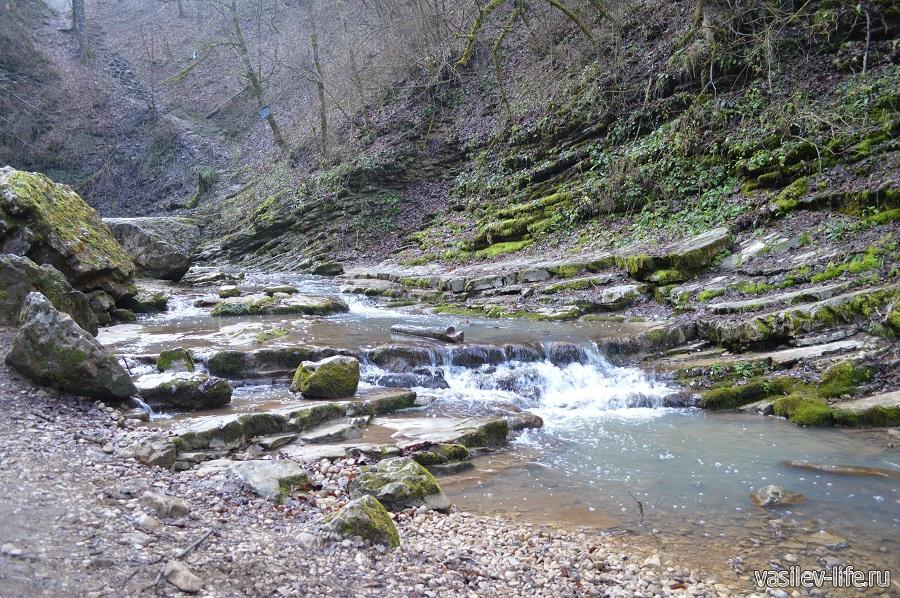 Водопады Руфабго в Адыгее (8)