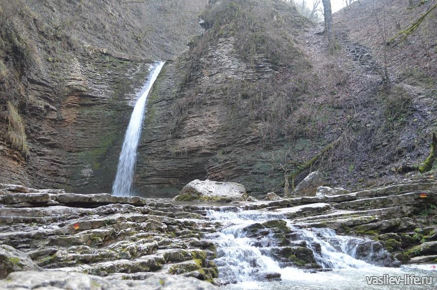 Водопады Руфабго в Адыгее (9)