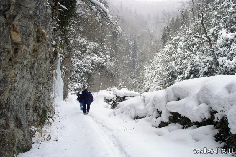 Водопады реки Матузка1