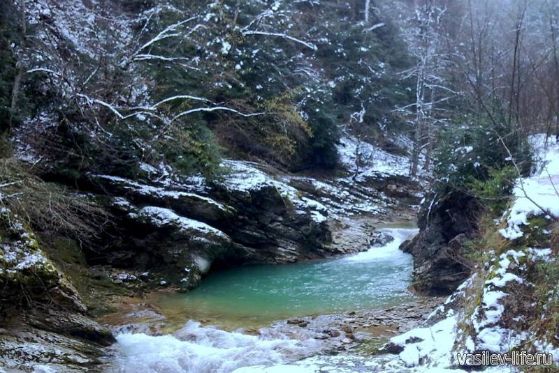 Водопады реки Матузка3