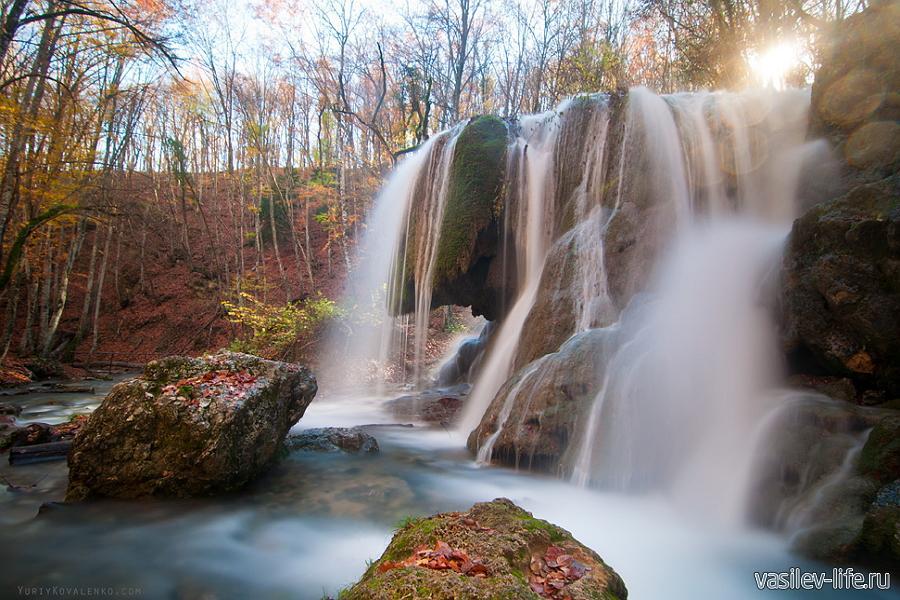 Водопад Серебряные струи (до обвала)