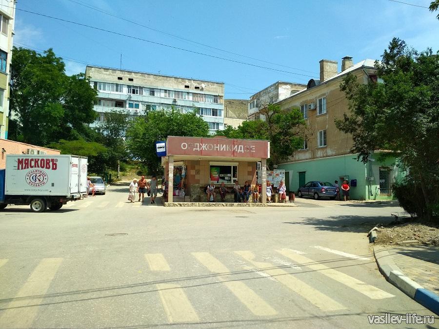 Вокзал в Орджоникидзе