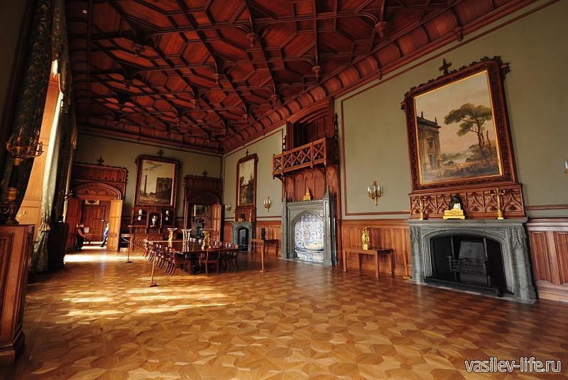 Воронцовский дворец внутри