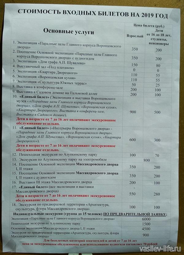 Воронцовский дворец в Алупке (5)