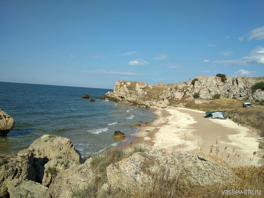 """Генеральские """"дикие"""" пляжи (Крым)"""