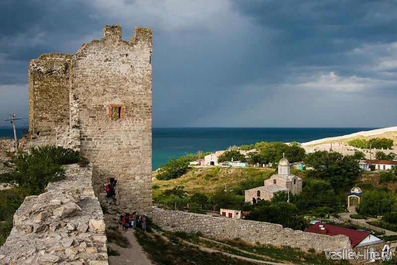 Генуэзская крепость Кафа 10