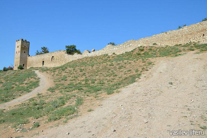 Генуэзская крепость Кафа 6