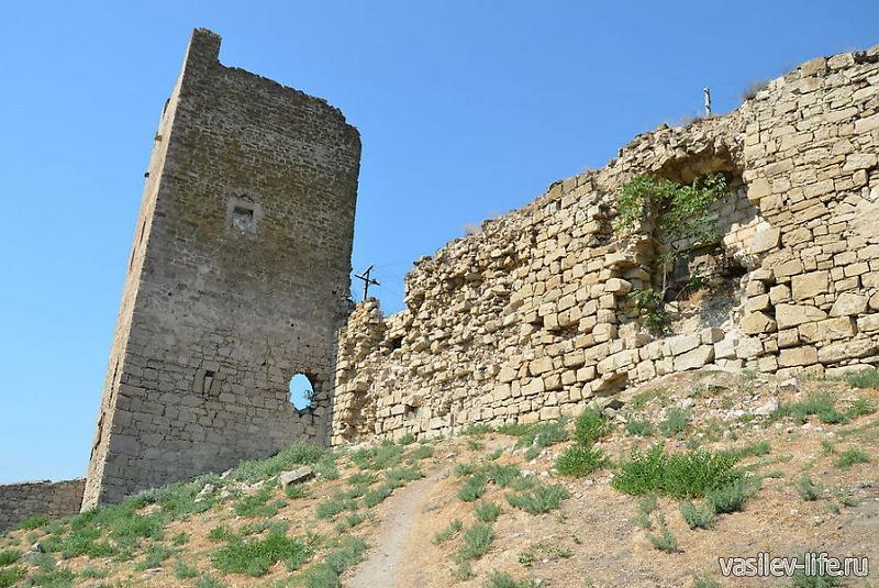 Генуэзская крепость Кафа 7