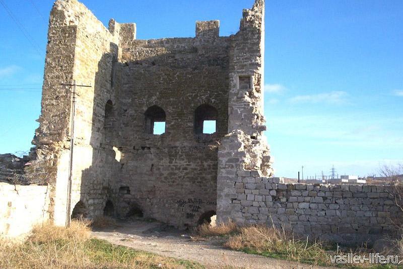 Генуэзская крепость Кафа 8