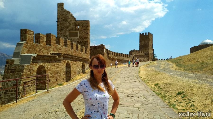 Генуэзская крепость, Судак