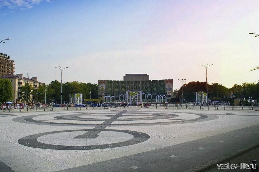 Главная городская площадь Краснодара