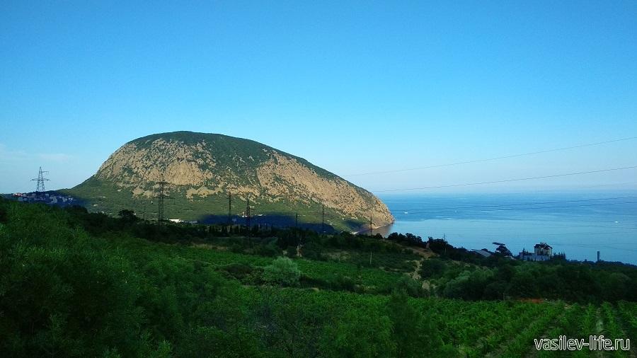 Гора Аю-Даг (вид с Гурзуфа)