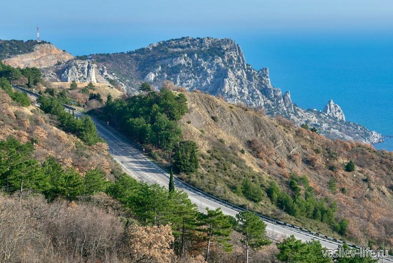 Гора Кошка в Симеизе