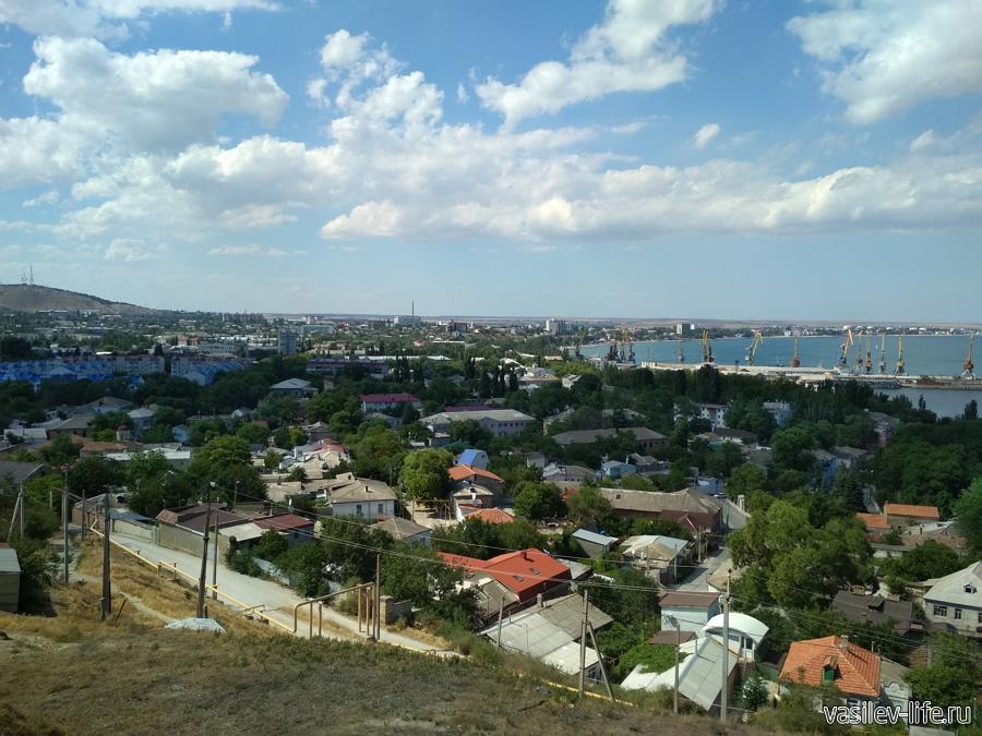 Гора Митридат, Феодосия