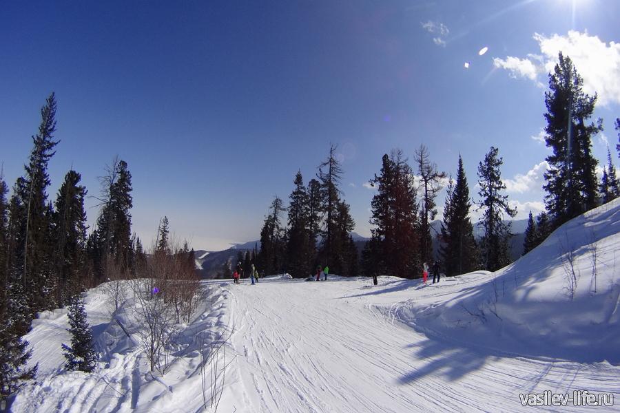 Гора Соболиная в марте