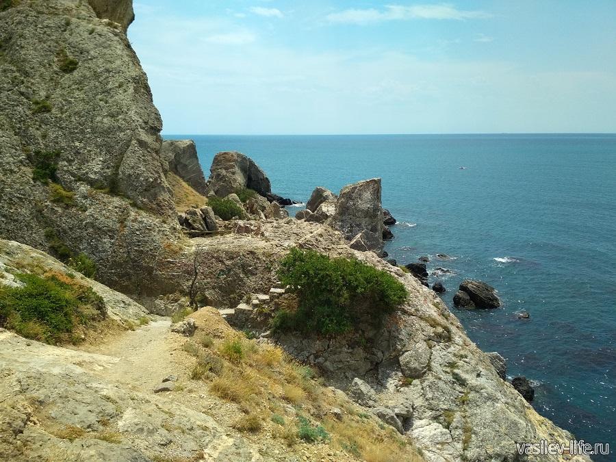 Гора и мыс Алчак-Кая в Судаке (тропа здоровья) (13)