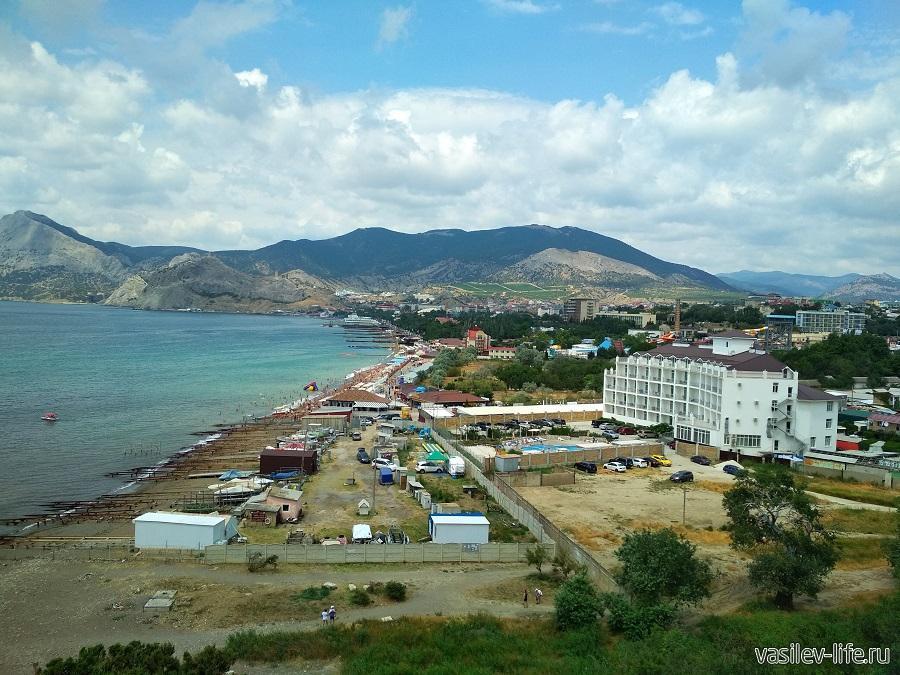 Гора и мыс Алчак-Кая в Судаке (тропа здоровья) (2)