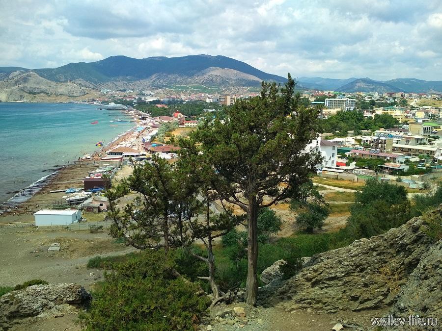 Гора и мыс Алчак-Кая в Судаке (тропа здоровья) (3)